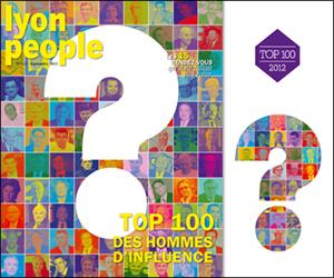 Accèder au classement 2012 des 100 hommes les plus influents de Lyon