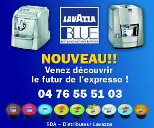 Publicité Lavazza