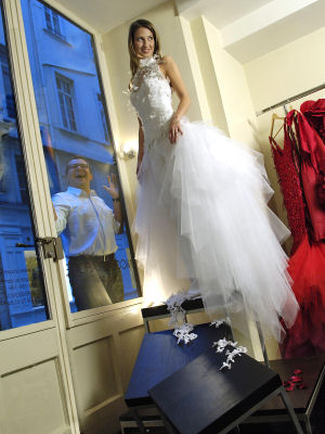 Prix robe de mariee nicolas fafiotte