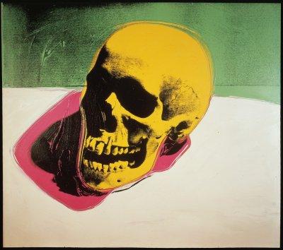 Sarah Hudson Andy Warhol Self Portrait With Skull