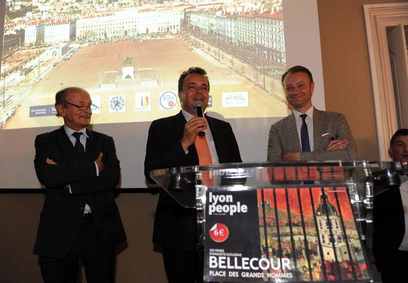 Lancement de Lyon People, spécial place Bellecour