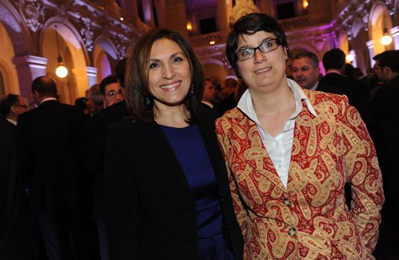 10. Nora Berra, député Européen et son assistante parlementaire Elodie Humeau