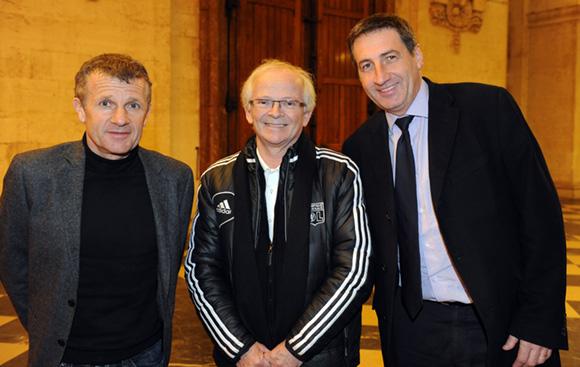 1. Patrice Lair, Jean-Jacques Amprino et Patrick Iliou (OL)