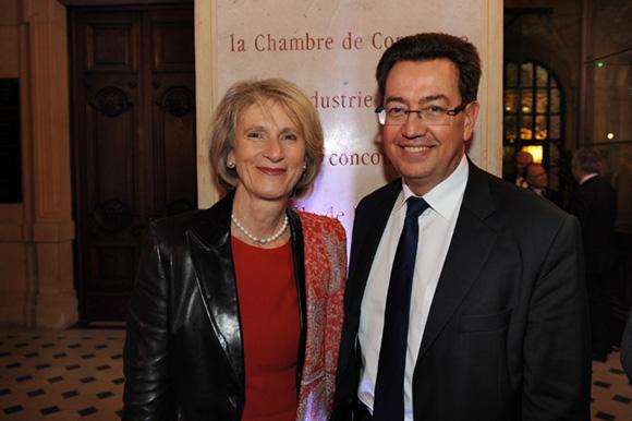 1. Dominique Nachury, député du Rhône et Philippe Cochet, député-maire de Caluire