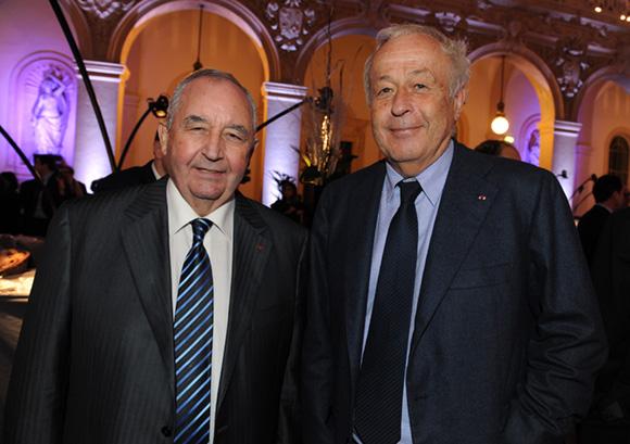 11. Jean-Paul Mauduy, président de la CRCI et Alain Mérieux