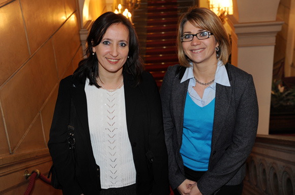 1. Catherine Durand et Stéphanie Foselle (Collège Aimé Césaire)