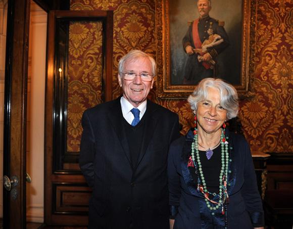 11. Philippe Brosette, président Fondation Marius Berliet et son épouse Victoria