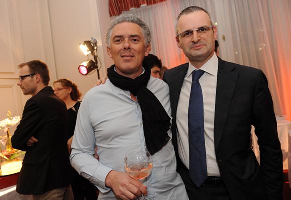 13. Arnaud Cambrillat (Cambrillat Ocularistes) et Lionel Badier (Brasseries Bocuse)