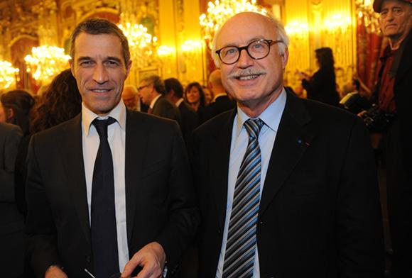 14. Marc Cimamonti, procureur de la République et le député Jean-Louis Touraine, premier adjoint au maire de Lyon