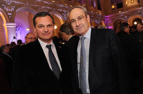 15. Yves Hunckler, consul de Norvège et Bruno Chiaverini, région Rhône-Alpes