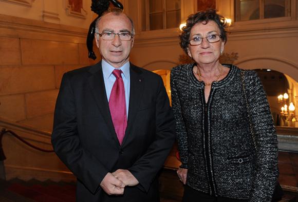 15. Yves Minssieux, consul de Belgique et son épouse Christine