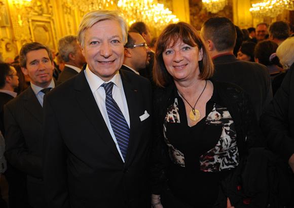 16. Marc Fraysse (Cofely GDF Suez) et Chantal Proust (SNCF)