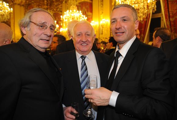 19. Jean Benzoni (Mairie du 9ème ), Claude Chabot, adjoint aux sports du 6ème et Laurent Lecoeur (Assurément Votre)