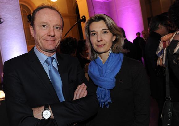 19. Bertrand Bottois (AXA) et Agnès Baylot