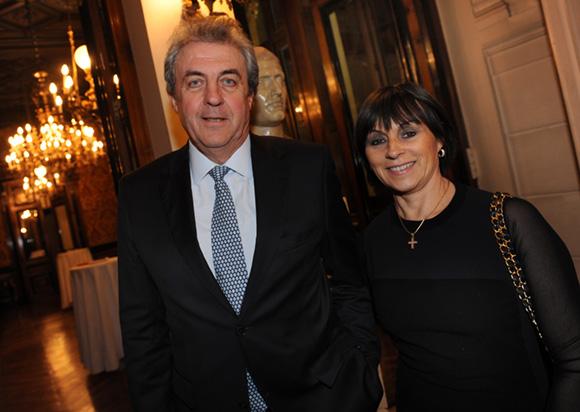 20. Maître Richard Brumm, adjoint aux Finances et son épouse Dominique
