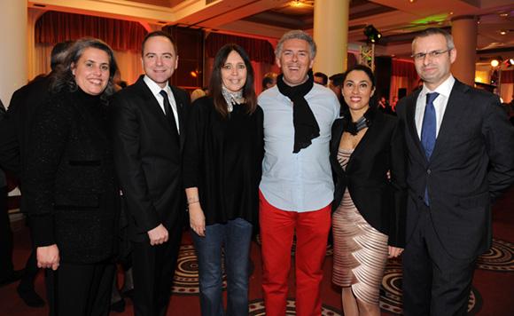 20. Vincent Leroux, son épouse Stéphanie, Arnaud Cambrillat, son épouse Florence, Marta Pardo-Badier et son époux Lionel
