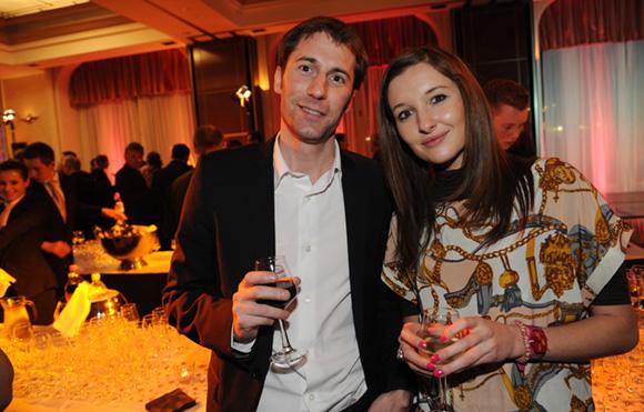 22. Franck Perotti et Jennifer Gaunot (Lagardère)