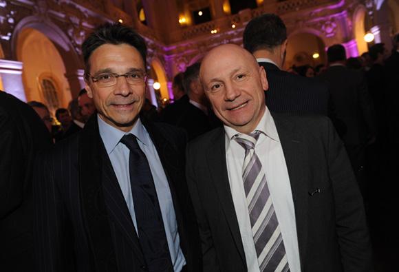 23. Olivier Bernardeau (OL) et Jean-Claude Lassalle (Le Progrès)