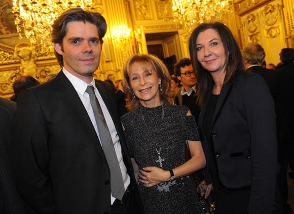 24. Michaël Peters (Euronews), Geneviève Watine et Caroline Auclair (Groupe Cardinal)