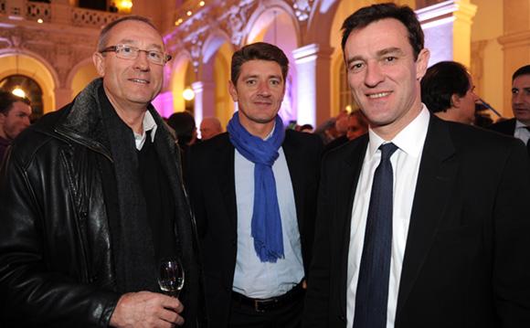 25. Patrice Garde (Place du Dauphiné), Damien Gouy-Perret et Michel Havard