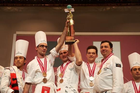 Sirha 2013. La France remporte la Coupe du monde de pâtisserie !
