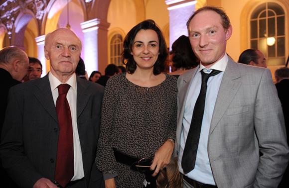 27. Alain Boucaud-Maitre (Chocolats Voisin), Agathe Forzy (EMLyon) et Romain Boucaud-Maitre (Chocolats Voisin)