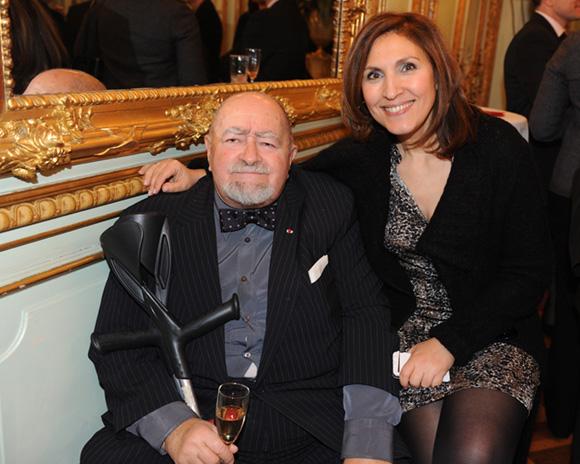 27. Robert Batailly et Nora Berra, député européen