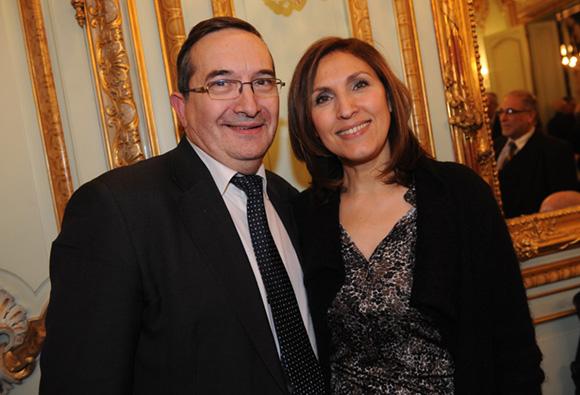 28. Gérard Vollory et Nora Berra, député européen