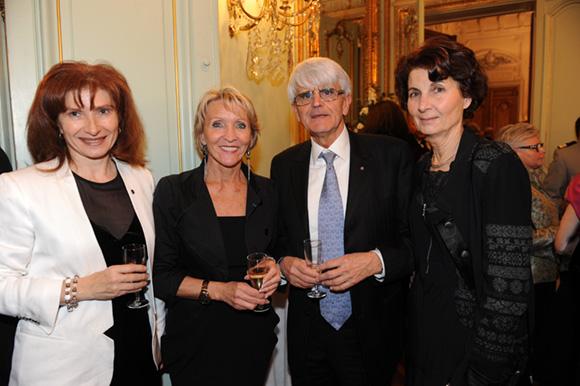 29. Isabelle Gonon (Byblos Group), Michel Hingrez, Marie-Christine et son époux Pierre Lopez
