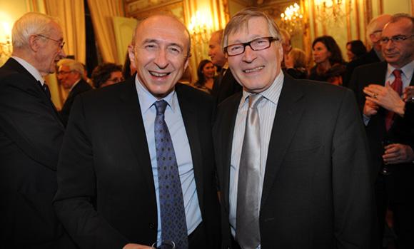 30. Gérard Collomb, sénateur-maire de Lyon et Jean-Jacques David, maire du 6ème