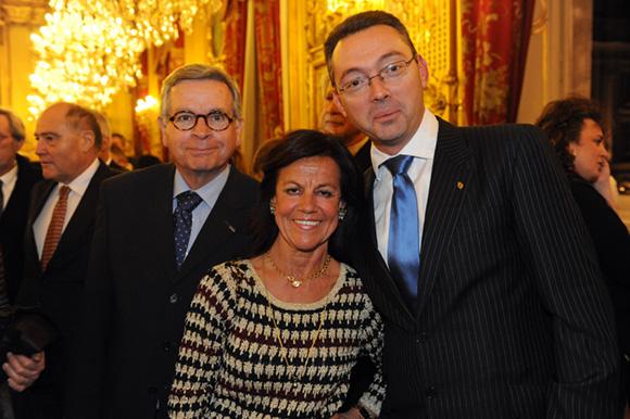 3. Pierre Minonzio, consul de Lituanie, Béryl Maillard, consul de St Domingue et Frédéric Favre, consul du Paraguay