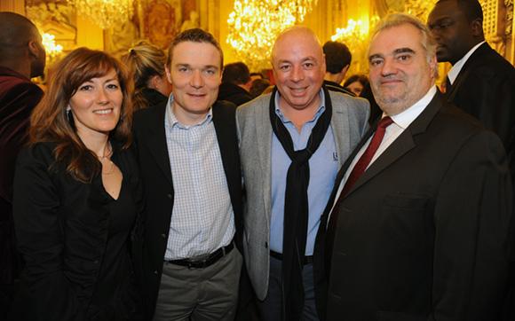 31. Christelle Patet, Damien Nonat (Chabanne & Partenaires architectes), Yvan Patet et Dominique Vinay (Cote Electrique)