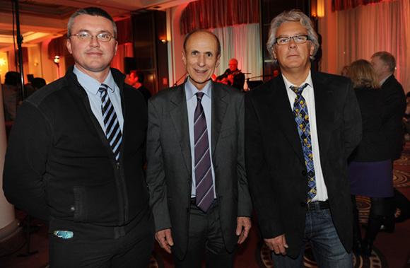 32. Eric Rousselot, Jean-Noël Ressicaud, adjoint au maire du 2ème  et Bernard Buffard (La Sphère des possibles)