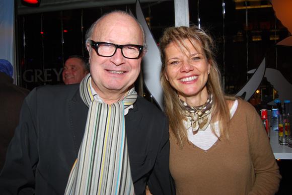 32. Jean-Claude Caro (Caro de Lyon) et Françoise