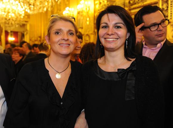 33. Marie Kadiri et Ingrid Boero