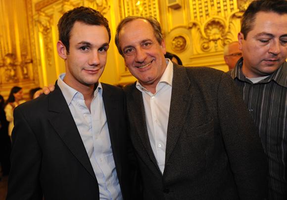 35. Philippe Florentin (Zinc Zinc) et son fils Lucas