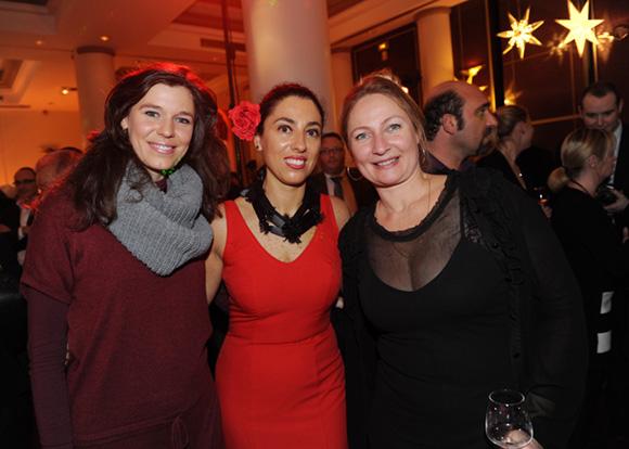 38. Roxana Bulmez (Le Progrès), Marta Pardo-Badier (Mercure Château Perrache) et Zoé Flachat (Cityvision)