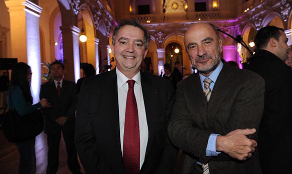 4. Guy Mathiolon, président Serfim et Jean-Michel Daclin, adjoint au rayonnement international