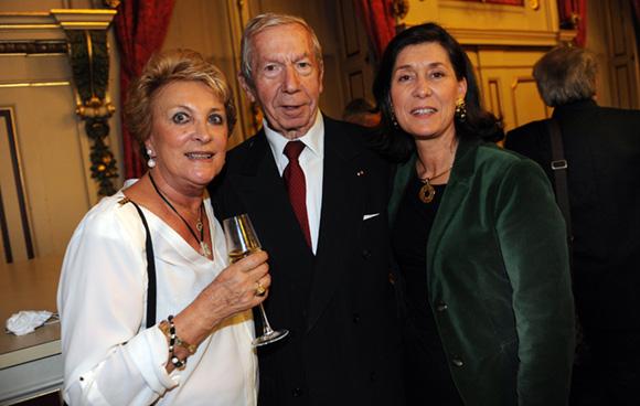 42. Guy Malher, ancien président de la CCI, son épouse Myriam et Marie-Christine Herrbach