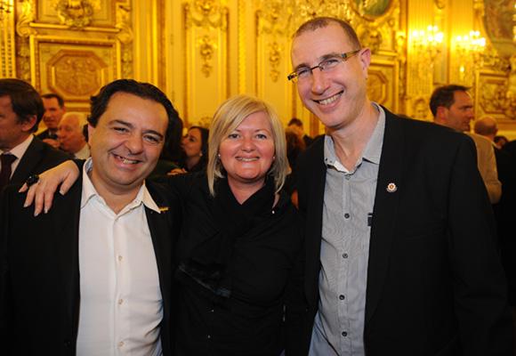 45. Chris, Pascale Descombes (Berthaud Belieu) et Didier Lavroff