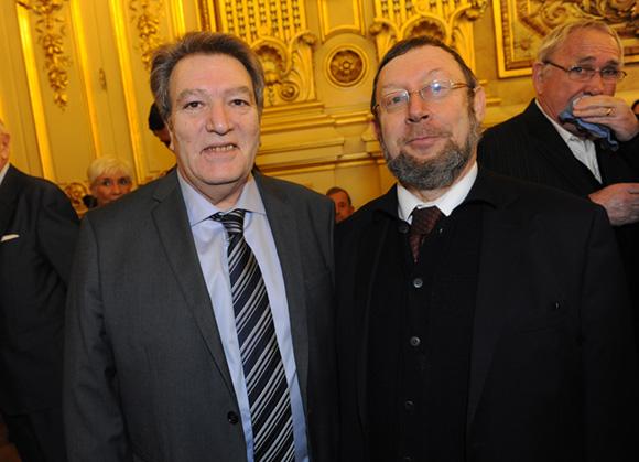5. Charles Attali (Mairie du 9ème) et Richard Wertenschlag, grand rabbin de Lyon