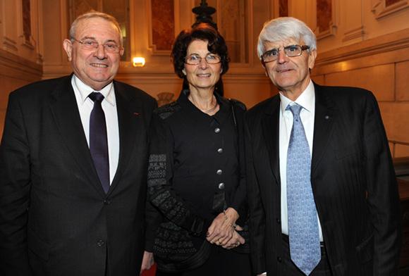 7. Michel Forissier, président par intérim du Conseil général du Rhône, Marie-Christine et son époux Pierre Lopez