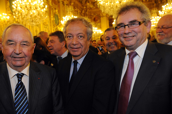 8. Jean-Paul Mauduy, président de la CRCI, Philippe Grillot, président de la CCI et Alain Audouard, président de la Chambre de Métiers