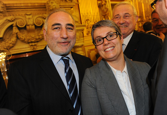9. Georges Kepenekian et Anne Brugnera, adjoints au maire de Lyon