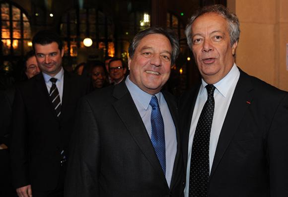 9. Franck Morize, François Turcas, président de la CGPME Rhône-Alpes et  Philippe Grillot, président de la CCI de Lyon