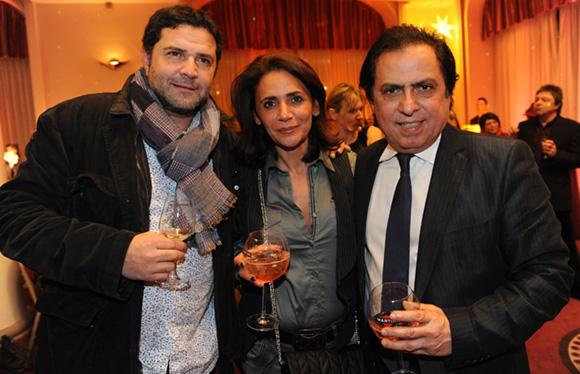 9. Guy Benayoun (Do Mo), Cherifa Redjem (Carla Kops) et le journaliste Jeunesse Choghi