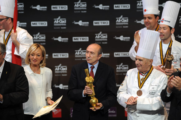 La France sacrée Bocuse d'Or 2013. Collomb fait la nique à Paris