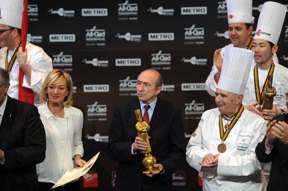 La France sacrée Bocuse d'Or 2013. Collomb fait la nique à Paris