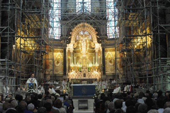 La basilique de Fourvière fermée pendant deux mois