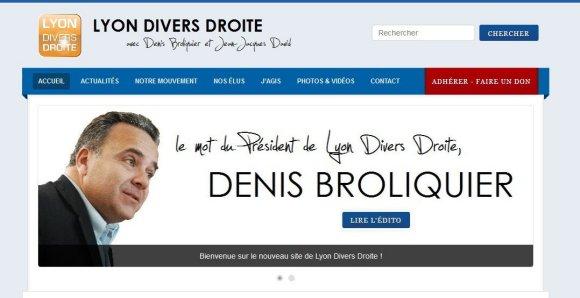 Lyon Divers Droite lance sa nouvelle page internet